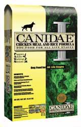 Корм для собак КАНИДЭ, формула КУРИЦА И РИС CANIDAE, CHICKEN & RICE